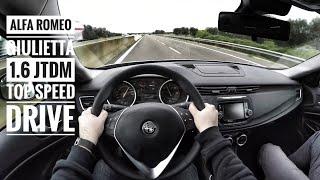 Alfa Romeo Giulietta 1.6 JTDM (2017) - POV Top Speed Drive