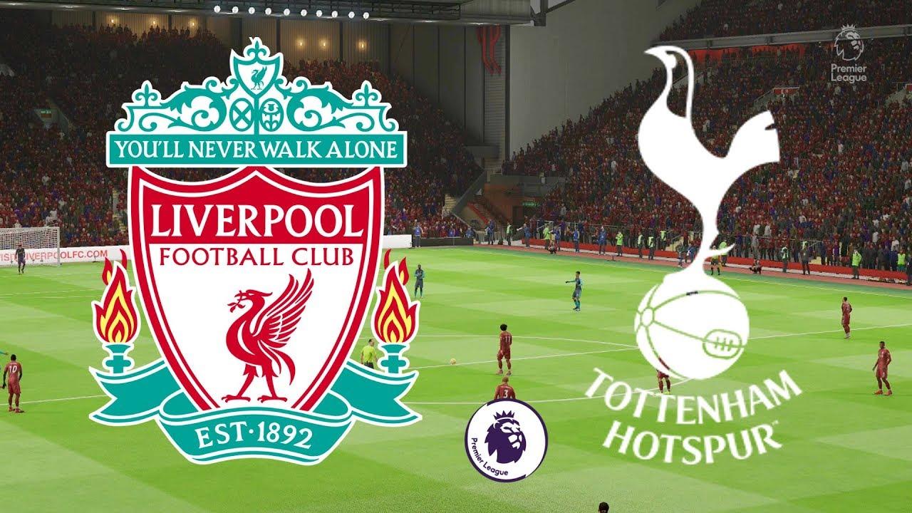 Premier League 2018/19 - Liverpool Vs Tottenham - 31/03/19 - FIFA 19 - YouTube