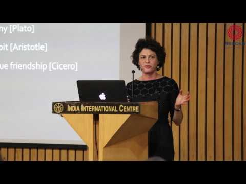 The Ashoka Crossover Lecture by Tamar Gendler