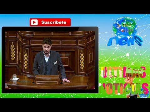 SOMANTA de Rufian a Girauta en el Congreso