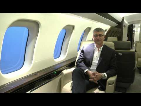 Tour of the Global 7000 business jet with Bassam Sabbagh