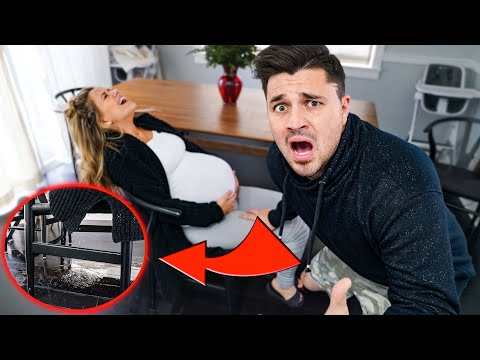 My Water Broke PRANK!!! (Worlds BEST Reaction)