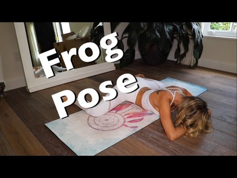 Yoga For Dummies:  Frog Pose!