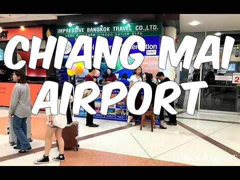 Chiang Mai International Airport  Thailand (Airports are my favorite place)