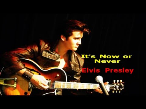 It's Now Or Never Karaoke (Original!) - Elvis Presley (High Quality!)