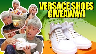 BINILI KO ANG MGA SHOES NI JAMES REID ( MAY GIVEAWAY NA VERSACE SHOES ) | CHAD KINIS VLOGS