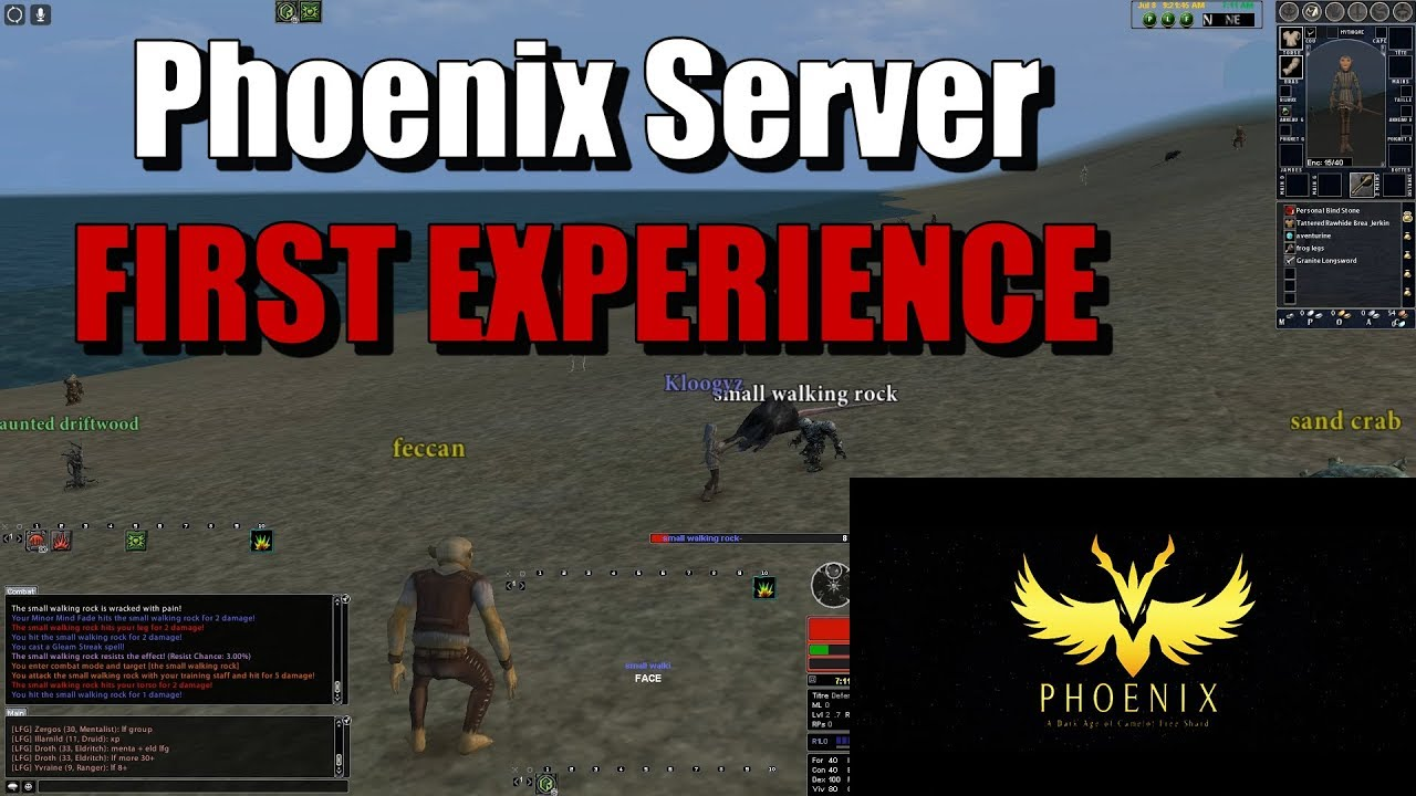 [Dark Age of Camelot] - Phoenix Server - FIRST EXPERIENCE