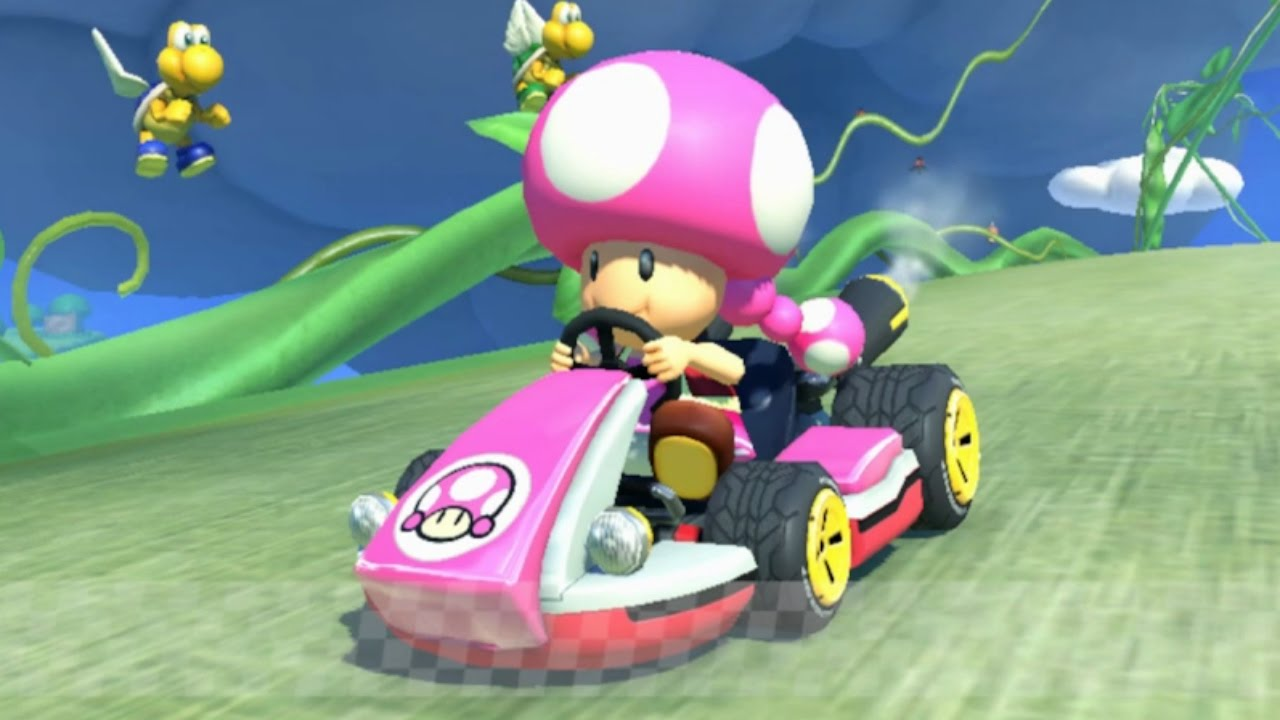 Mario Kart 8 Toadette Gameplay HD - YouTube