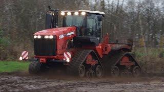Testdrive Versatile 550 DeltaTrack rupstrekker 550 HP 40km/h playing in the mud