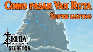 secretos y trucos de zelda breath of the wild 64   como pasar vah ruta muy rapido buena