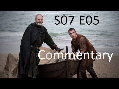 GOT S07 E05 Commentary II Liam Cunningham and Iain Glen