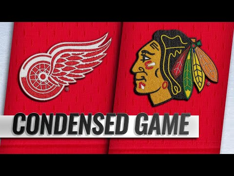 02/10/19 Condensed Game: Red Wings @ Blackhawks