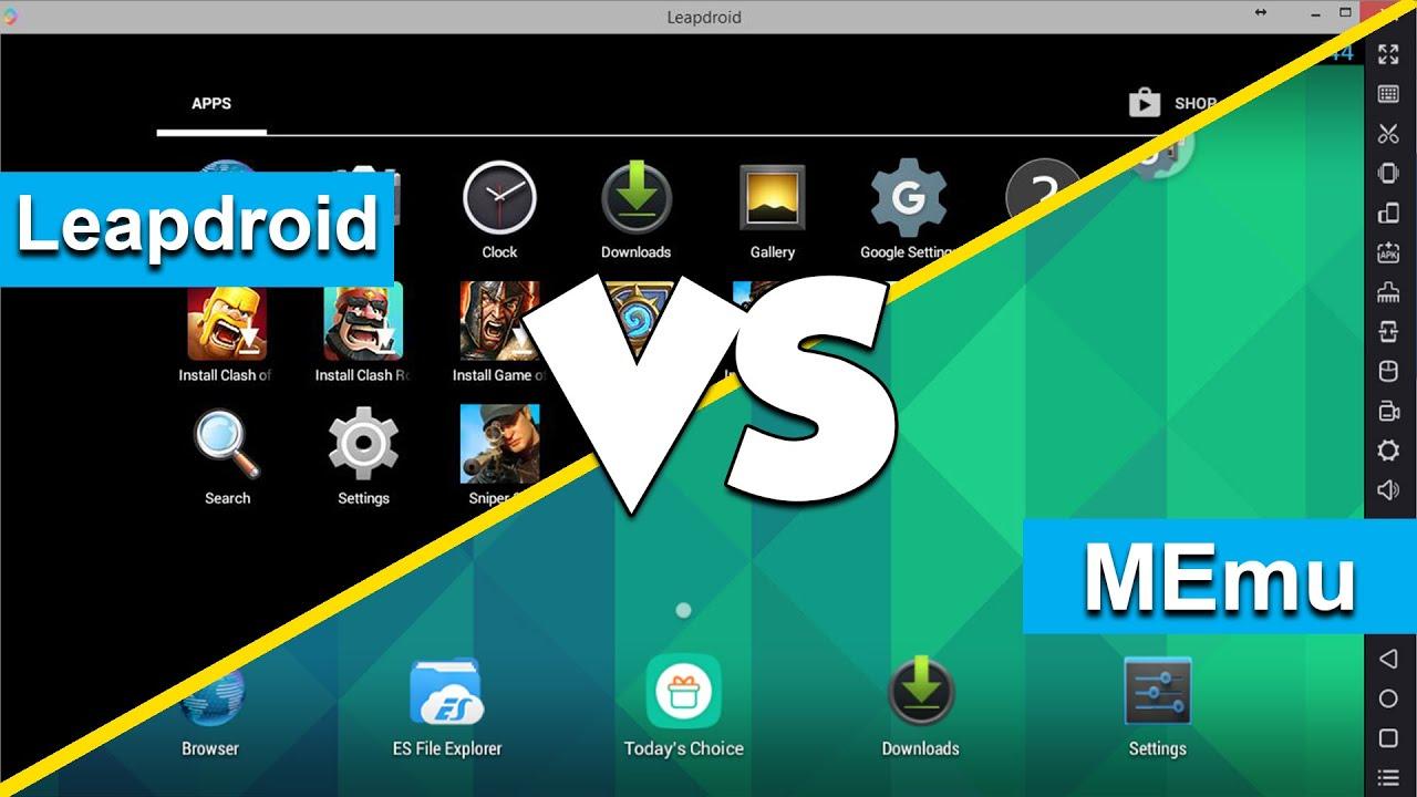 Best Android Emulators For PC 2016 Final Edition | MEmu VS