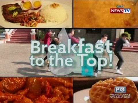 Good News: Breakfast to the Top!