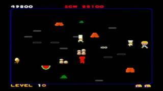FOOD FIGHT - Classic ATARI Arcade Game