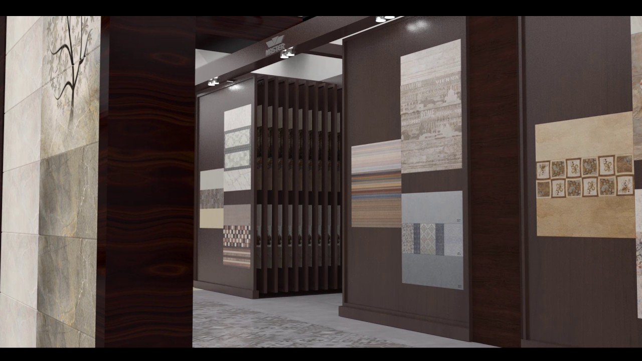 Master Tiles Animated Display Interior - YouTube