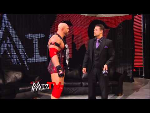"WWE Main Event - ""Miz TV"" with special guest Ryback: Jan. 30, 2013"