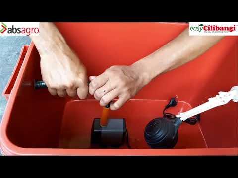 Langkah Demi Langkah Pemasangan Mini Fertigasi (Sistem Tangki Air & Paip Titisan)