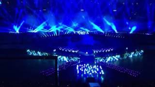 NDP 2016 Neon light show