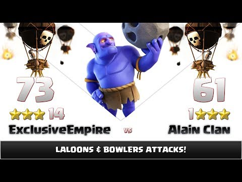 Clash of clans | Exclusive Empire vs Alain Clan | 14:1