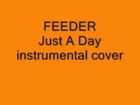 FEEDER. Just A Day . instrumental cover