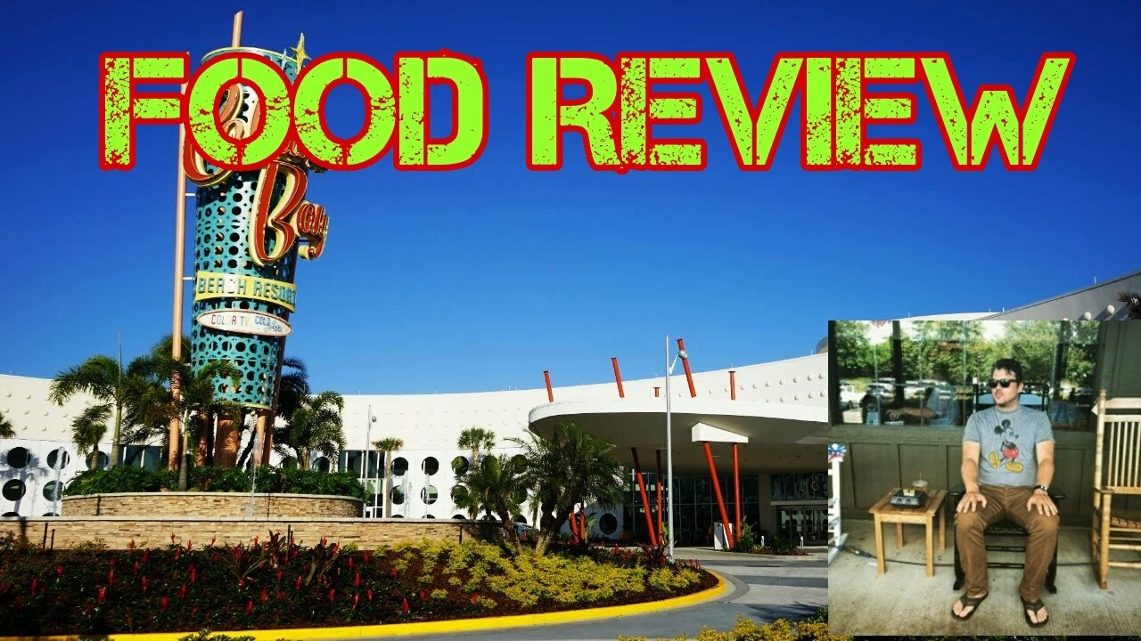 Food Review At Universals Cabana Bay Beach Resort
