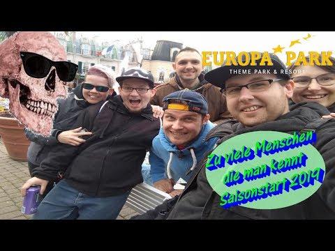 Zu viele menschen die man kennt | Europa-Park Saisonstart 2019