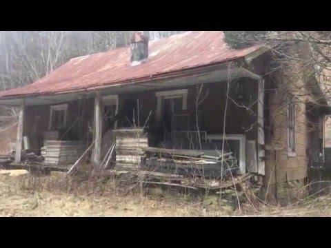Abandoned Hillbilly Shacks : Blue Ridge Mountains, VA
