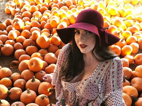 VLOG   Pumpkin Patch, Zombie Frap Taste Test, Houston Bound