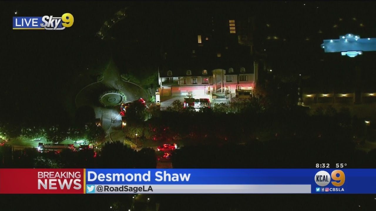 Fire Crews Respond To Beverly Crest Home Of Actor Denzel ...