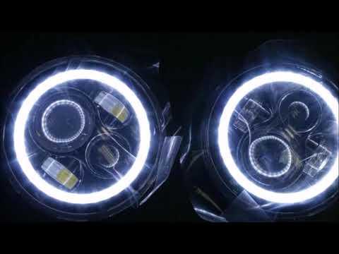 7 универсальные LED фары