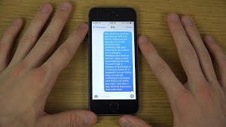 iOS 8 Beta 4 - Live Typing Talk to Text Review