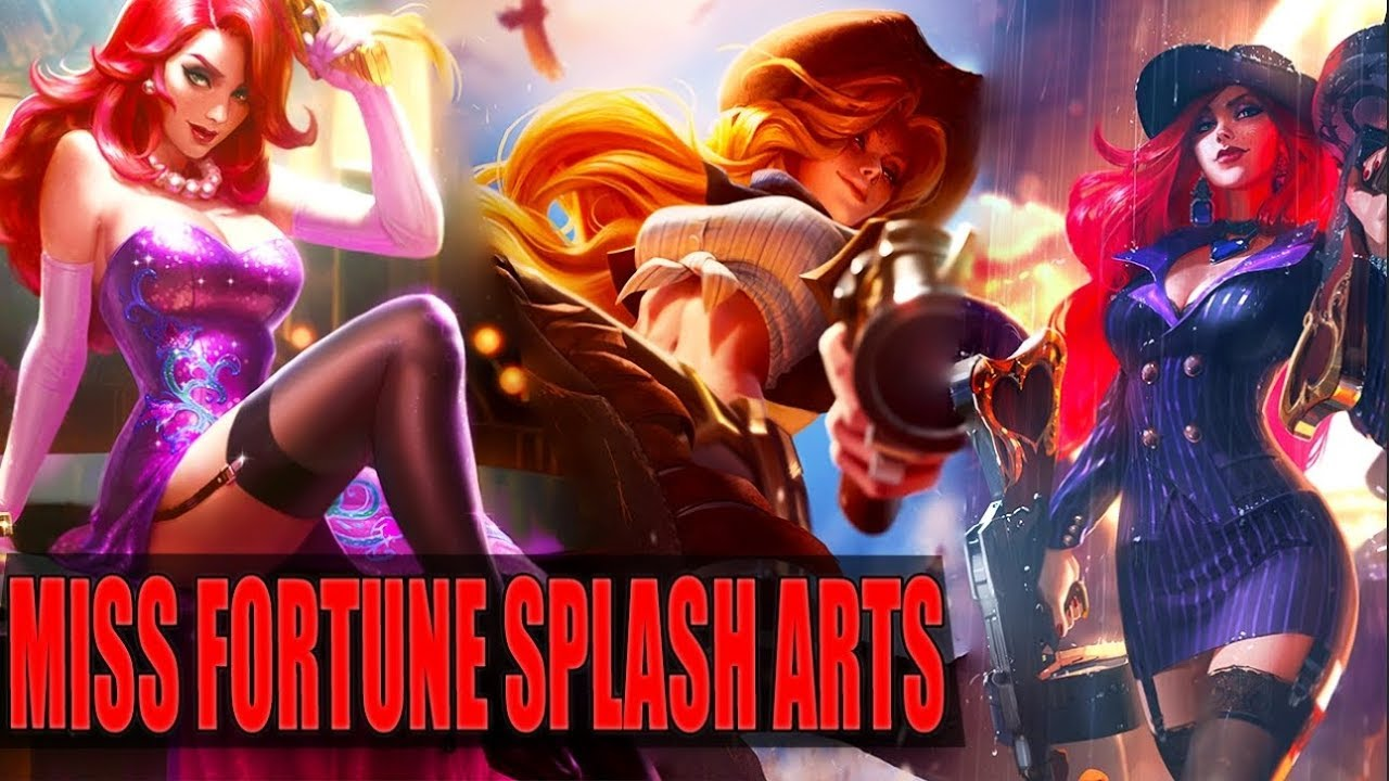Miss Fortune Reworked Splash Arts Old Vs New Comparison
