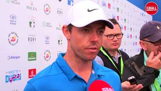 Rory McIlroy happy with his