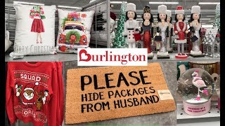 BURLINGTON CHRISTMAS SHOP WITH ME 2018