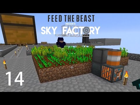 Sky Factory 3 w/ xB - AUTOMATED FARMING [E14] (Minecraft Modded Sky Block)