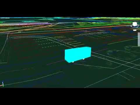 Fire Appliance swept path analysis 3D