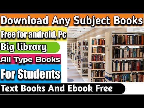 how to download books free android pdf | download any books for free