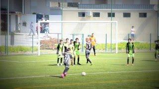 Brito SC 1-1 Ronfe Defesa Luís Ribeiro