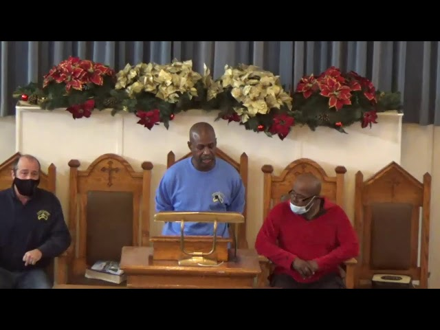 South Calvary MBC Sunday Morning Worship - December 27, 2020