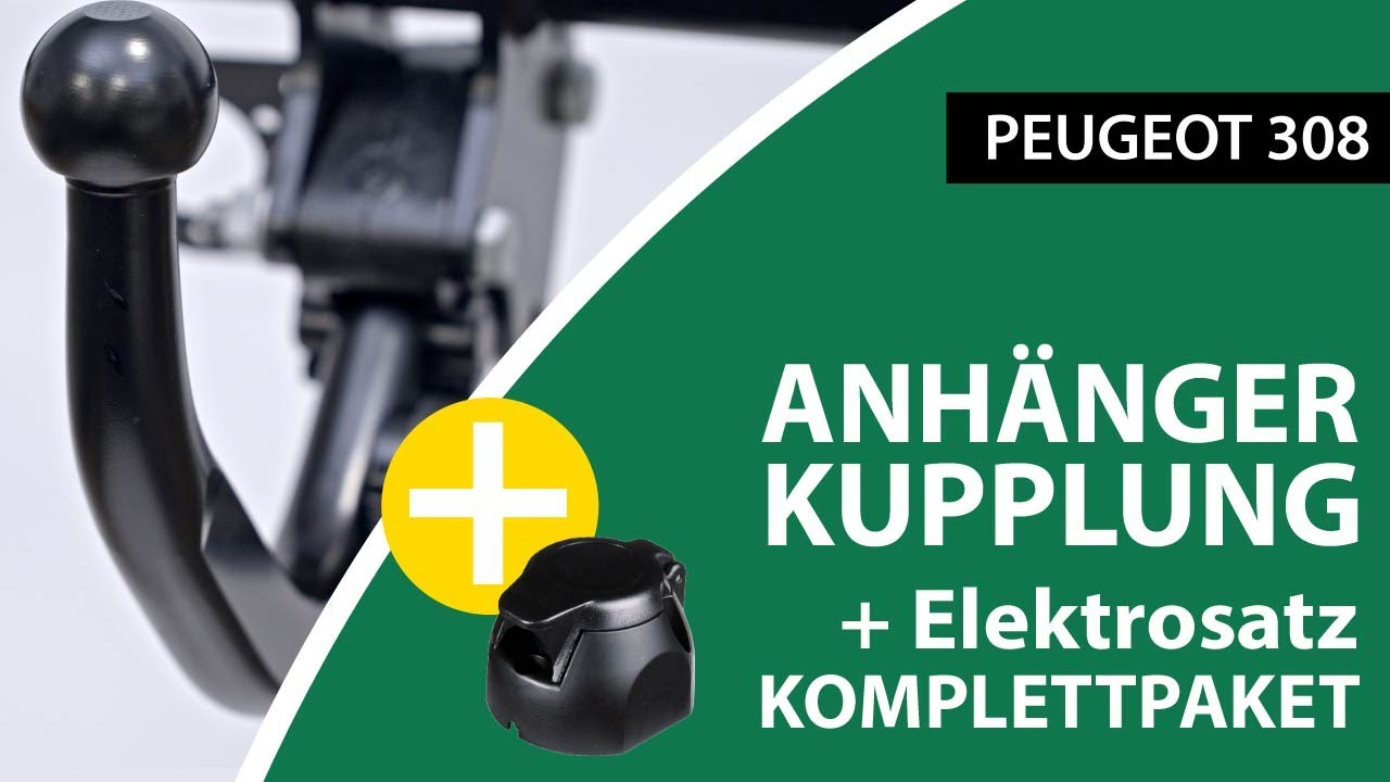 Anhängerkupplung Abnehmbar Peugeot 308 Brink Komplettsatz Montage Von Rameder