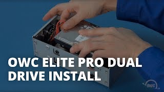 How to Install Hard Drives in the OWC Mercury Elite Pro Dual