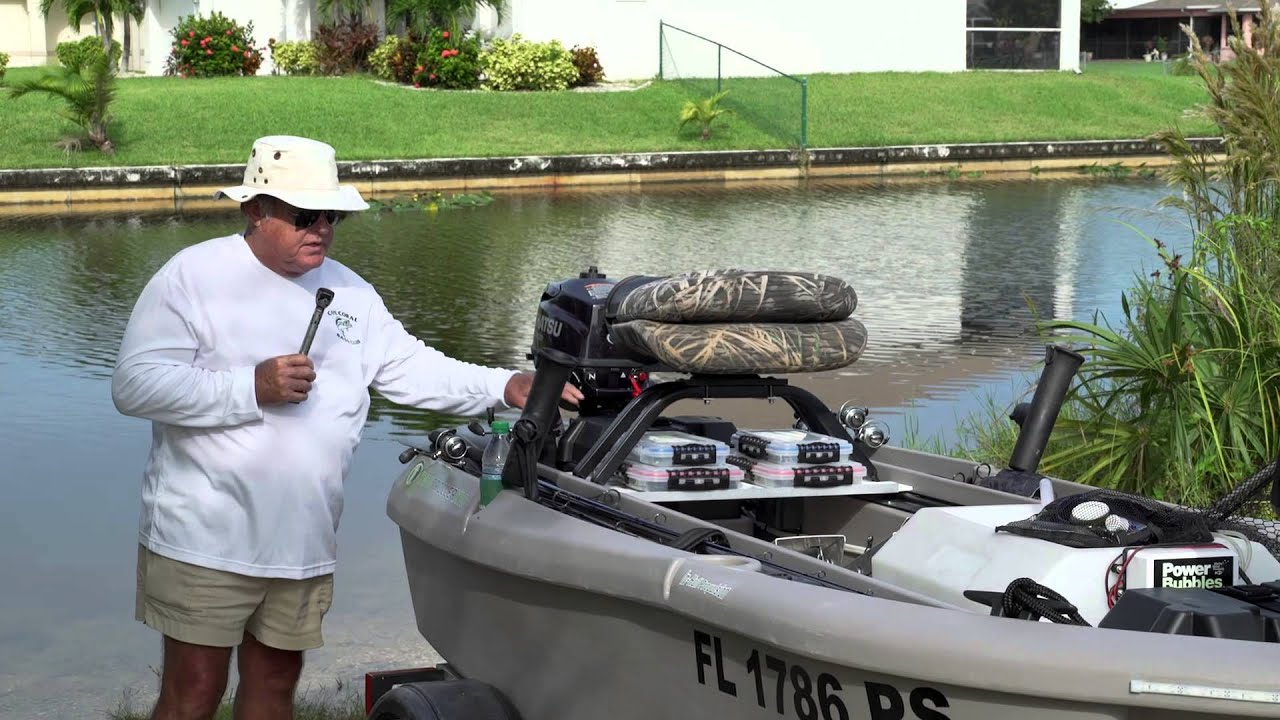 The worlds best 2 man small fishing boat twin troller x10 - Twin Troller X10 Review Testimonial James Cape Coral Florida Part 2