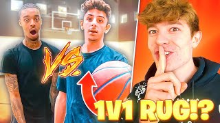 Reacting to FAZE RUG VS JUNE FLIGHT!! (INTENSE BASKETBALL 1V1)