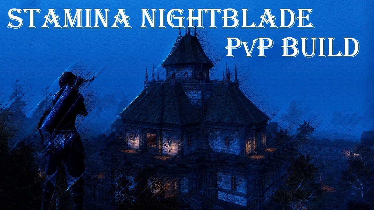 eso nightblade pvp stamina build