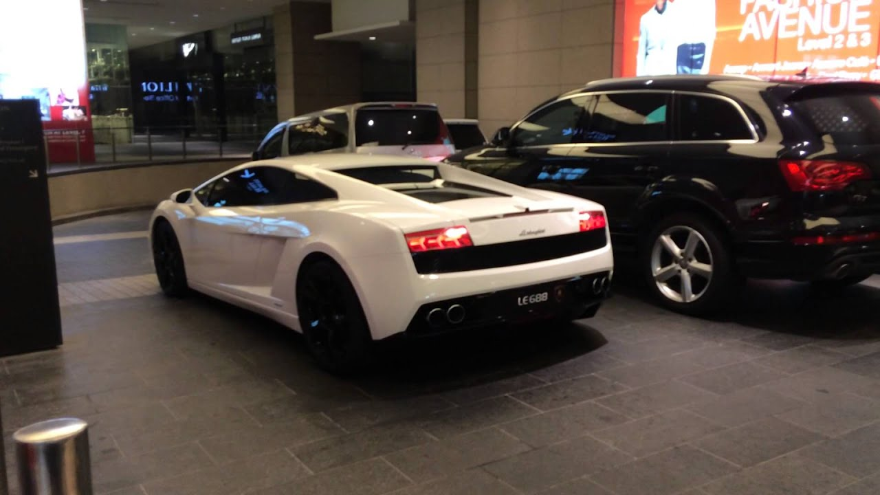 Lamborghini Gallardo Start Up At Pavilion Kuala Lumpur Youtube