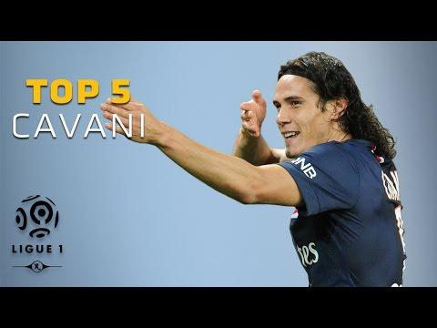 Edinson Cavani - Top 5 Goals