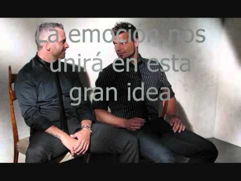 Eros Ramazzotti y Ricky Martin  No estamos solos
