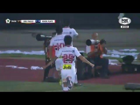 Gol Calleri ● São Paulo 1x0 River Plate ● Libertadores da América 2016 ● 13/04/16