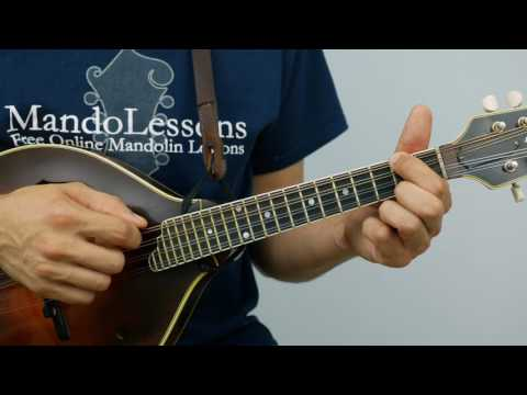 Two String Two Finger Chords: Key of D - Mandolin Lesson